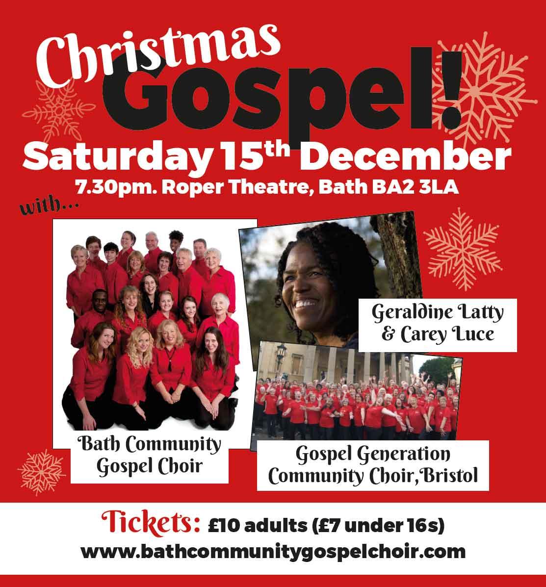 Christmas Gospel poster